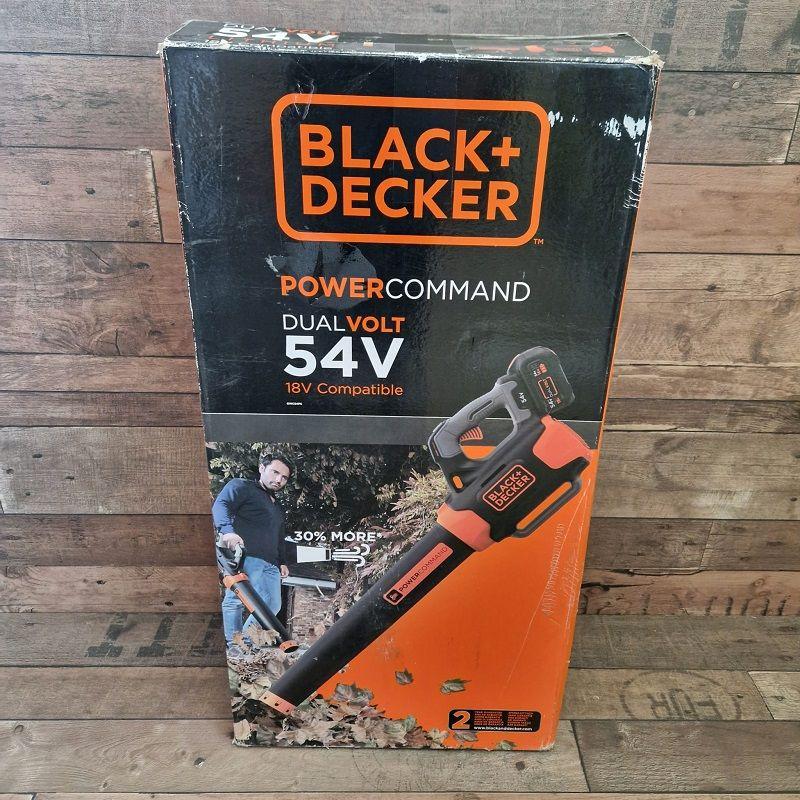 Black + Decker GWC54PC-QW lombfúvó töltővel akku nélkül